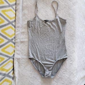 Cotton,modal mix, Size large Joe's bodysuits gray